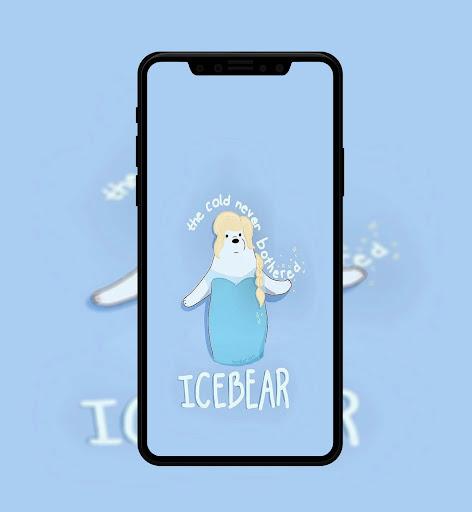 Cute Bear Cartoon Wallpaper screenshot 3