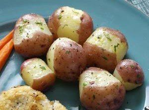 Lemon Butter New Potatoes Recipe