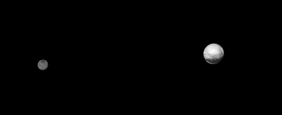 ชมภาพคู่ของดาวพลูโตและชารอน Pluto and Charon 3
