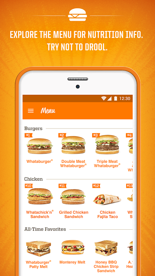 Whataburger- screenshot