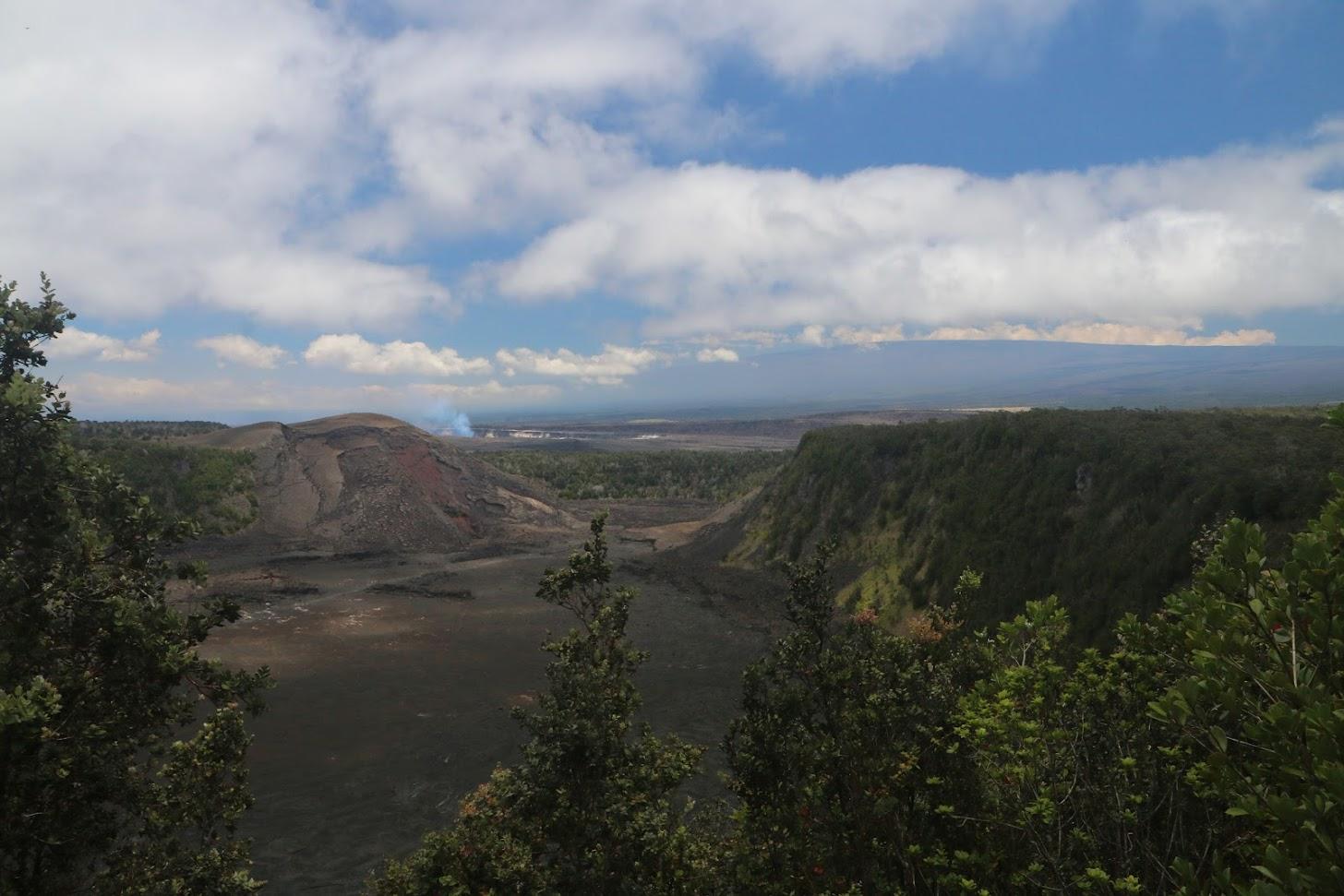 Le cratère du Kilauea
