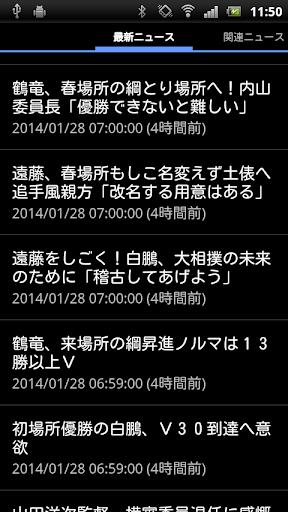 相撲ニュース