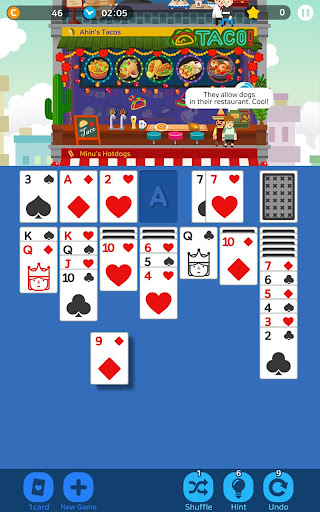 Solitaire Cooking Tower - Top Card Game 1.0.7 2