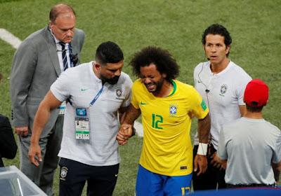 Marcelo en Douglas Costa geraken normaal fit voor Brazilië-België