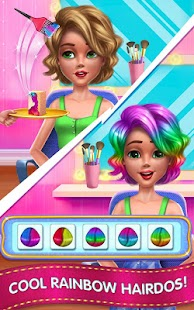 Download Fashion School Girl - Makeover & Dress Up Friends for PC