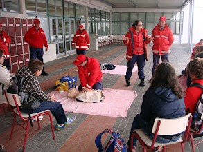Photo: Ação de sensibilização no Agrupamento de Escolas Fernão do Pó