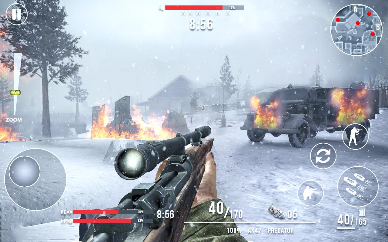 Call of Sniper ww2 Mod Apk (Unlimited Money) 4