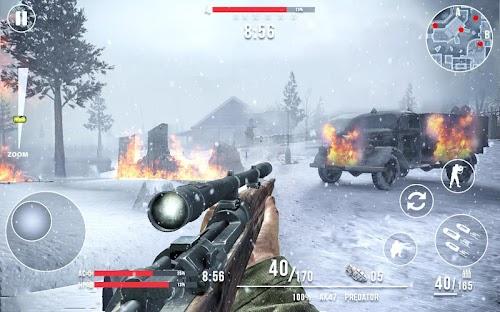 Screenshot 4 Call of Sniper WW2: Final Battleground 2.0.0 APK MOD