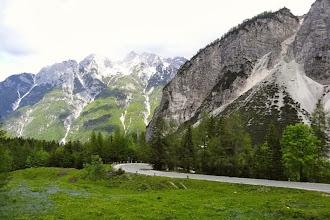Photo: Der VRSIC-Pass ist Sloweniens höchster asphaltierter Gebirgspass.