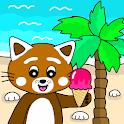 Pukkins Sommar - Roligt lärande spel för barn icon
