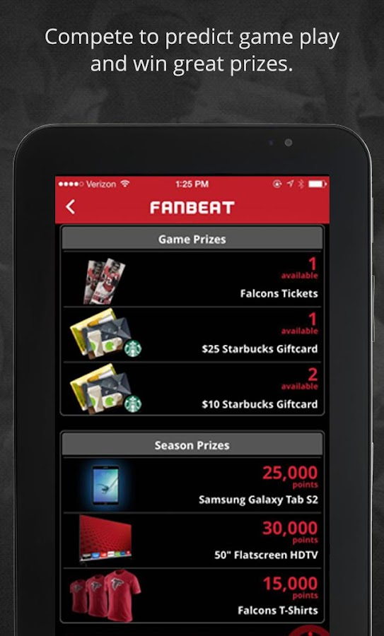 FanBeat- screenshot