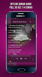 Raad Muhammad Al Kurdi Full Quran Mp3 Offline 1.0 MOD + APK + DATA Download 2