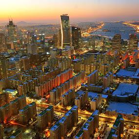63 City Seoul by Khoirul Huda - City,  Street & Park  Vistas