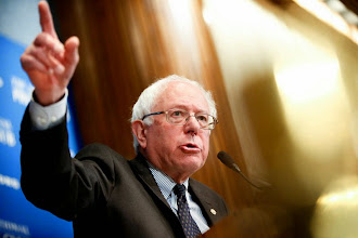 Photo: Sen. Bernie Sanders, I-Vt., speaks at a luncheon at the National Press Club on Monday, March 9, 2015 in Washington. Sanders, an independent who caucuses with Democrats, is considering running for the 2016 Democratic nomination as a liberal alternative to Hillary Clinton, focusing on income inequality and climate change. (AP Photo/Andrew Harnik)