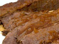 Passover:  Jewish Style Sweet And Sour Brisket