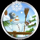 Inverno sfondi animati e tamagotchi icon