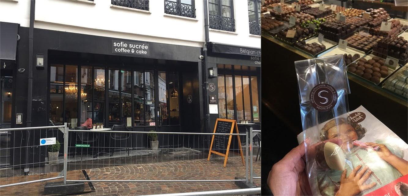 Antwerp Chocolate Week Sofie Sucree