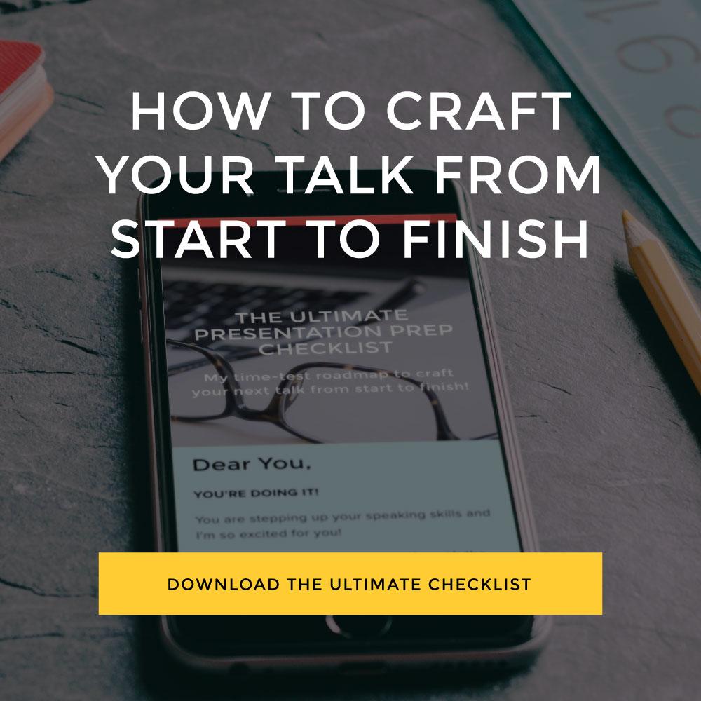 Speaker Checklist