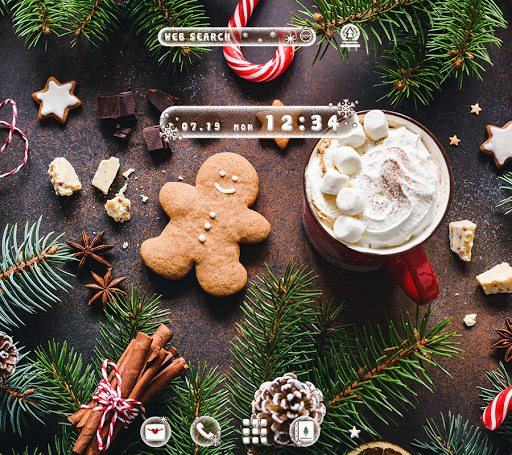 Cute Wallpaper Christmas Time Theme Mod Apk Unlimited