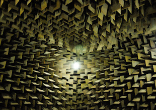 Photo: Anechoic chamber:shhh!  works as zero sound reflection place
