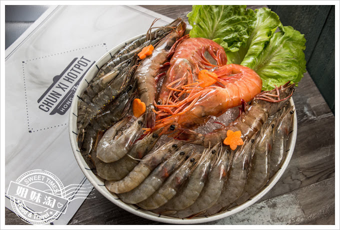 春囍打邊爐蝦蝦蝦海味拼盤