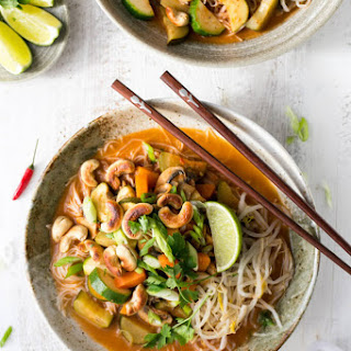 Thai Red Curry Noodles.