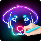 Draw Glow Animals icon