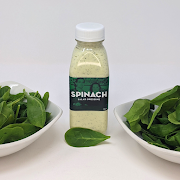 Bottle of Spinach Dressing