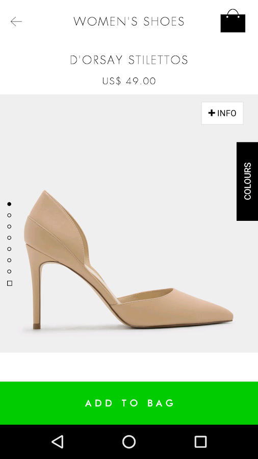 CHARLES & KEITH- screenshot