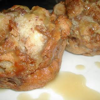 Cinnamon Bread Puddings.