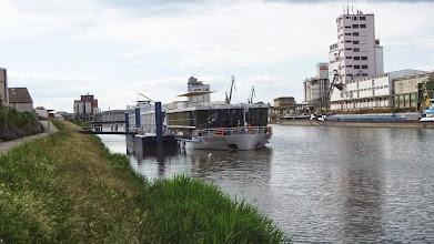 Photo: Unser Schiff im Hafen Bamberg