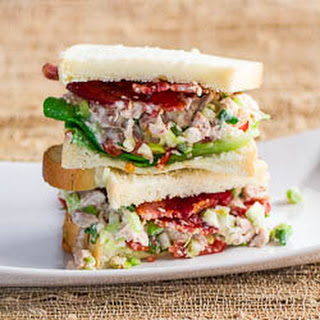 Easy Chicken Salad Sandwiches.