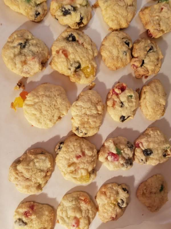 Fruit Slice Cookies, Aka Gumdrop Cookies, My Way Recipe