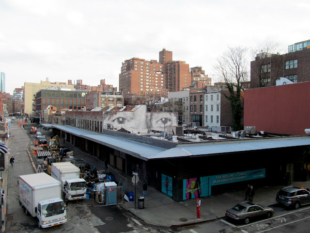 View from south end of the High Line