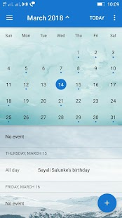 Ekstar Calendar Screenshot