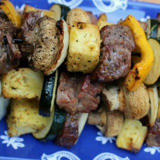 Sweet And Zesty Steak Kabobs