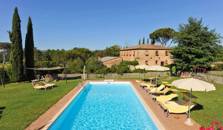 Villa with garden Monteroni D'arbia