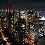 Shinjuku, financial district of Tokyo in Tokyo, Tokyo, Japan