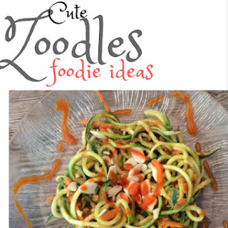 Zucchini Noodles with Chili-Almond-Miso Paste