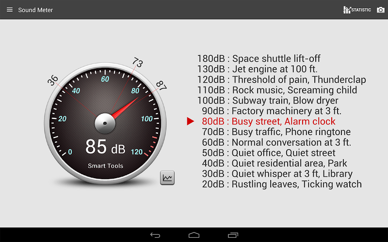 Sound Meter Pro Screenshot 8