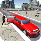 Limo Taxi Car Driving Fun Simulator 🚙
