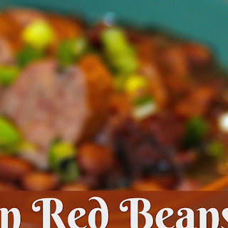 Cajun Red Beans and Rice in the Crock-Pot.