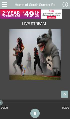 android WSSH Raider Radio Screenshot 0