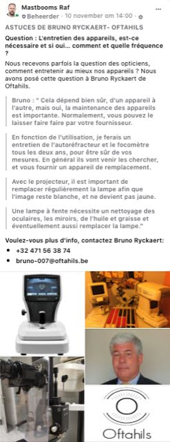 Astuces de Bruno Ryckaert - Oftahils