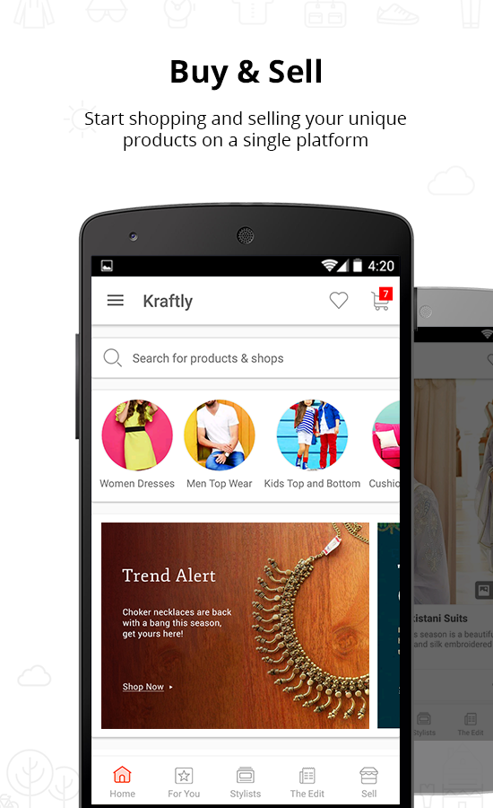 Kraftly - Online Shopping App- screenshot