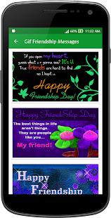 Gif Friendship Day Messages Collection - náhled