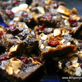 No Bake Lentil Energy Bars - Vegan & Gluten-Free!