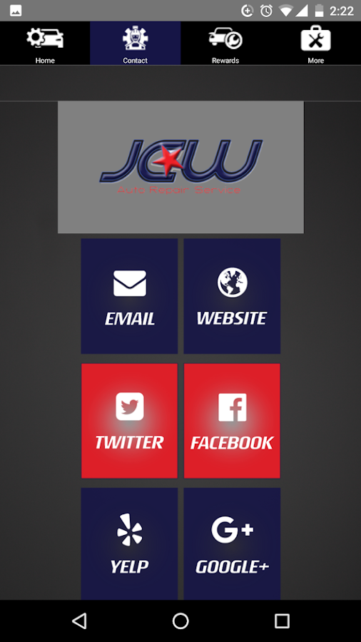 JCW Auto Repair- screenshot