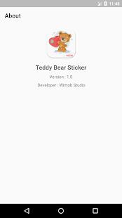 ???? WAStickerApps - Teddy Bear Sticker NEW