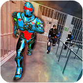 Futuristic Robot Jail Breaker : Prison Escape